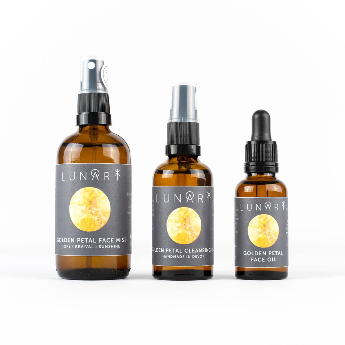 lunari golden petal products